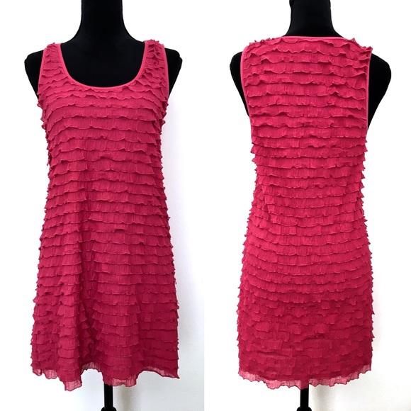 Free People Dresses & Skirts - Free People Pink Ruffle Dress